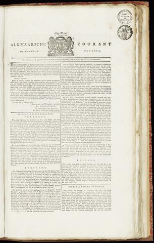 Alkmaarsche Courant 1829-04-06