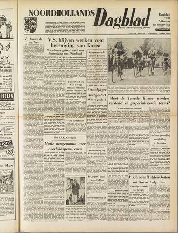 Noordhollands Dagblad : dagblad voor Alkmaar en omgeving 1953-07-09