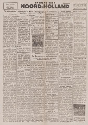 Dagblad Noord-Holland, Schager editie 1944-04-29