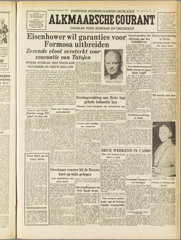 Alkmaarsche Courant 1955-01-24