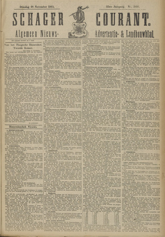 Schager Courant 1911-11-28
