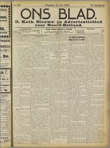 Ons Blad : katholiek nieuwsblad voor N-H 1913-07-15