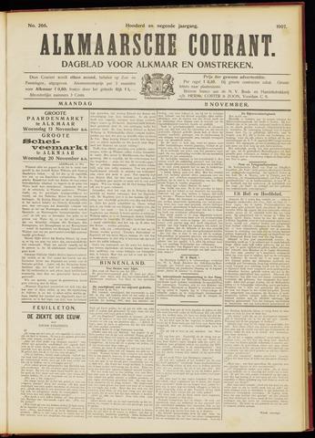 Alkmaarsche Courant 1907-11-11