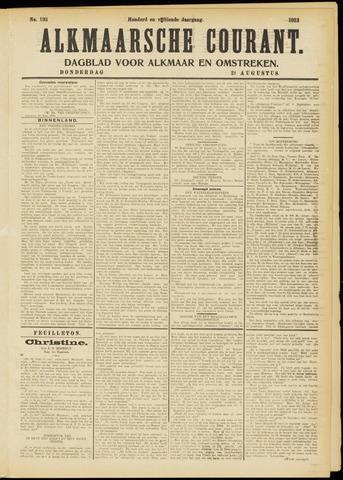 Alkmaarsche Courant 1913-08-21