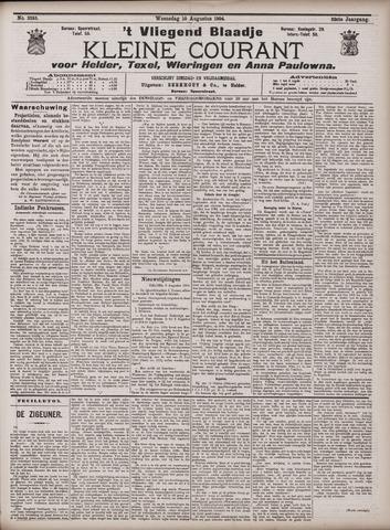 Vliegend blaadje : nieuws- en advertentiebode voor Den Helder 1904-08-10