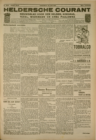 Heldersche Courant 1930-06-26