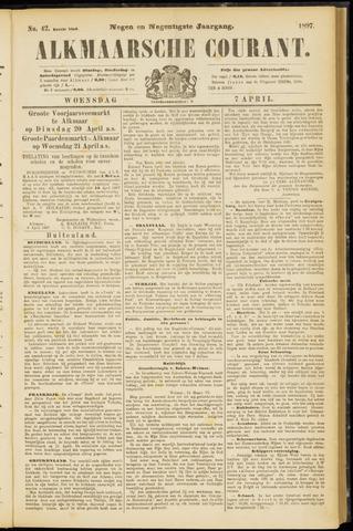 Alkmaarsche Courant 1897-04-07