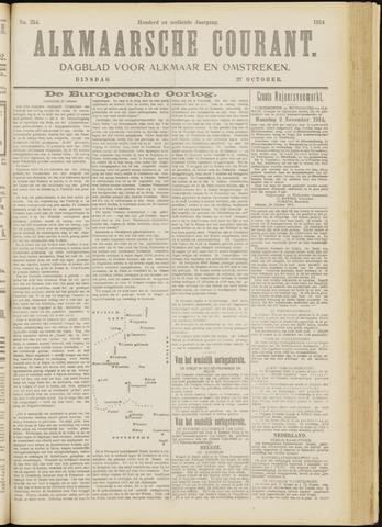 Alkmaarsche Courant 1914-10-27