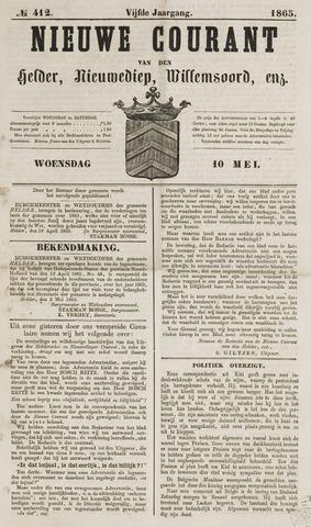 Nieuwe Courant van Den Helder 1865-05-10