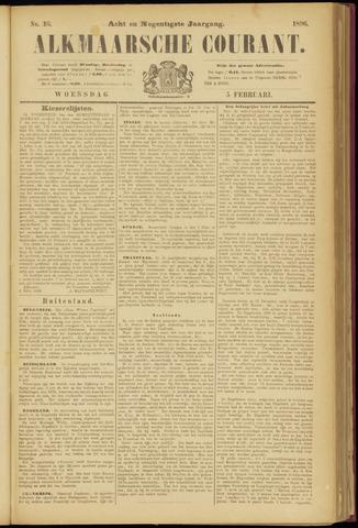 Alkmaarsche Courant 1896-02-05