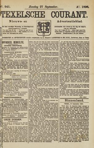 Texelsche Courant 1896-09-27