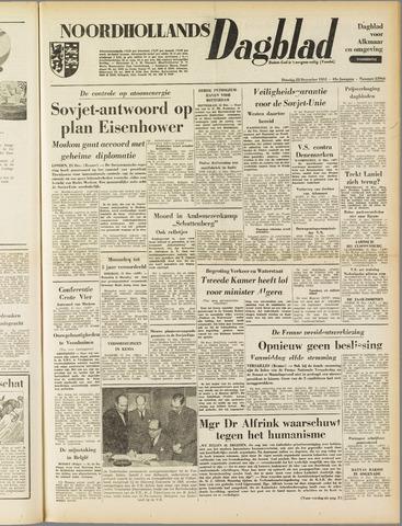 Noordhollands Dagblad : dagblad voor Alkmaar en omgeving 1953-12-22