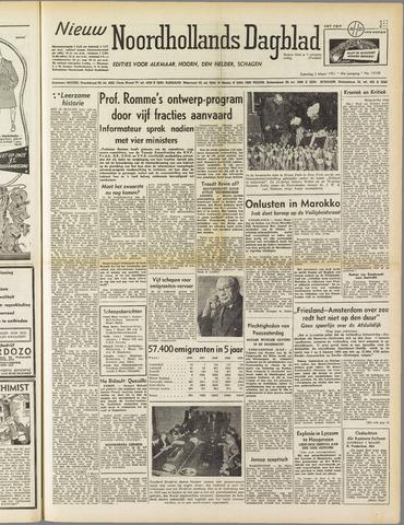 Nieuw Noordhollandsch Dagblad : voor Alkmaar en omgeving 1951-03-03