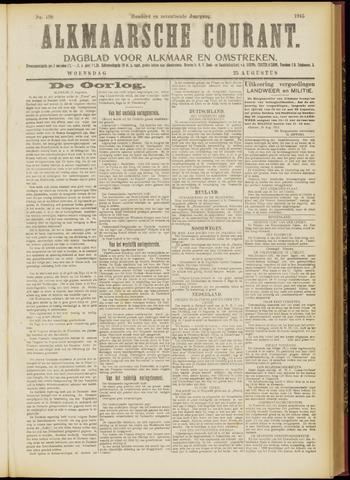 Alkmaarsche Courant 1915-08-25