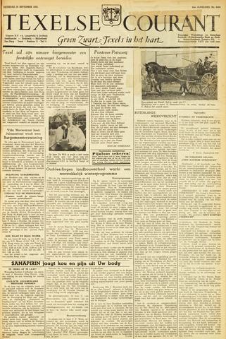 Texelsche Courant 1950-09-30