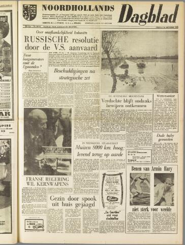 Noordhollands Dagblad : dagblad voor Alkmaar en omgeving 1960-10-14