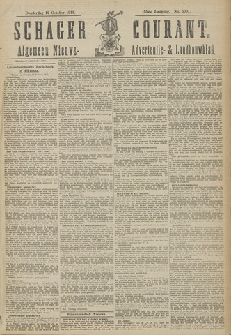 Schager Courant 1911-10-12
