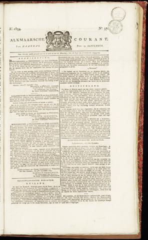 Alkmaarsche Courant 1834-09-15