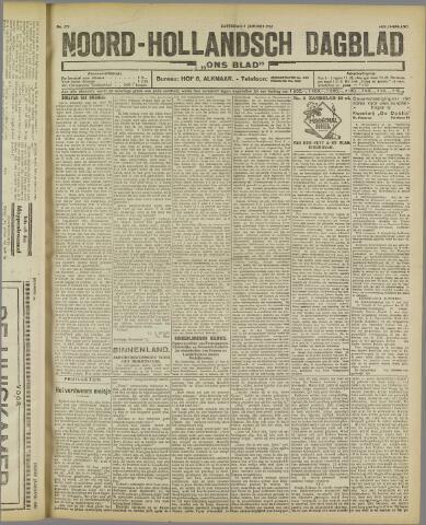 Ons Blad : katholiek nieuwsblad voor N-H 1922-01-07