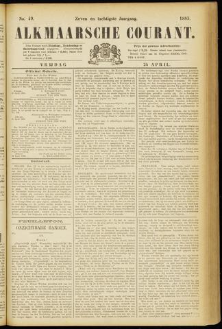 Alkmaarsche Courant 1885-04-24