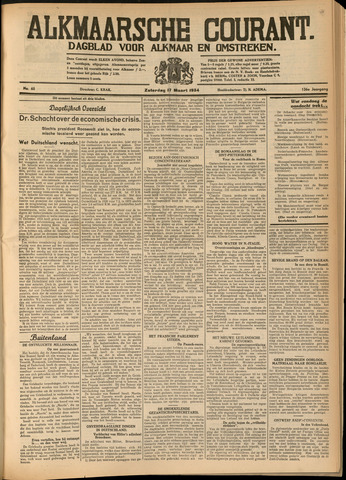 Alkmaarsche Courant 1934-03-17