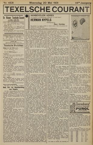 Texelsche Courant 1931-05-20