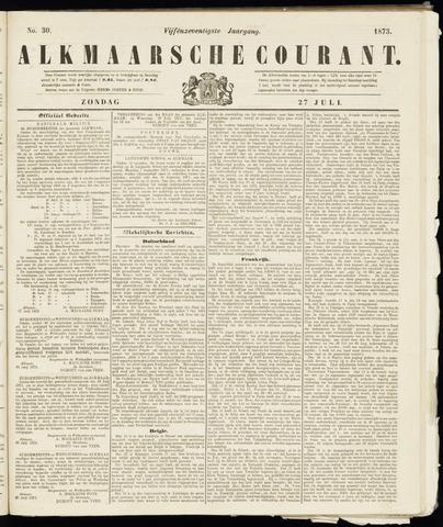 Alkmaarsche Courant 1873-07-27