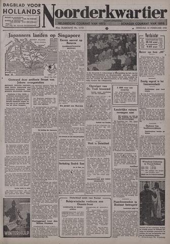Dagblad voor Hollands Noorderkwartier 1942-02-10
