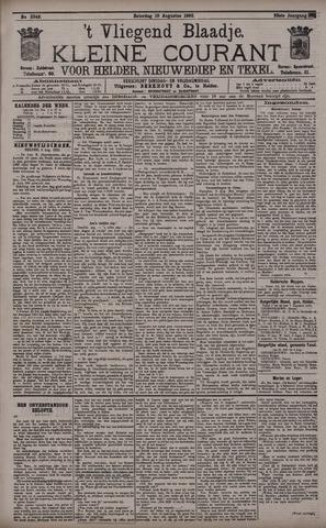 Vliegend blaadje : nieuws- en advertentiebode voor Den Helder 1895-08-10