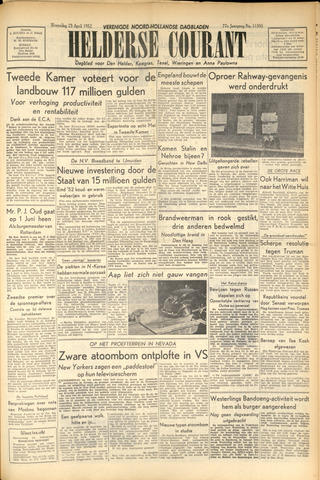 Heldersche Courant 1952-04-23