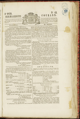 Alkmaarsche Courant 1851-10-20