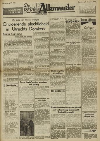 De Vrije Alkmaarder 1947-10-09