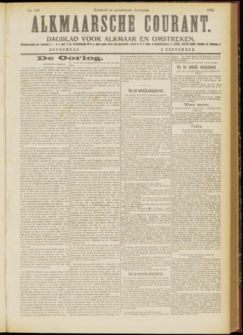 Alkmaarsche Courant 1915-09-02