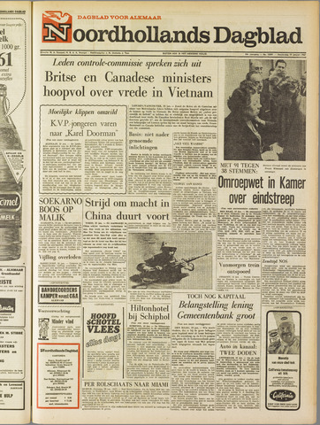 Noordhollands Dagblad : dagblad voor Alkmaar en omgeving 1967-01-19