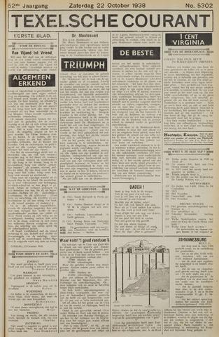 Texelsche Courant 1938-10-22