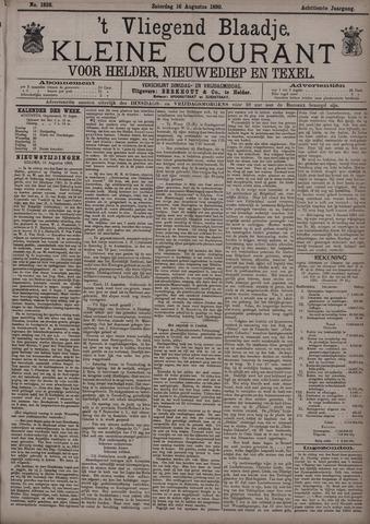 Vliegend blaadje : nieuws- en advertentiebode voor Den Helder 1890-08-16