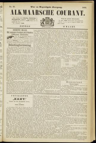 Alkmaarsche Courant 1892-03-13