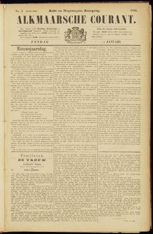 Alkmaarsche Courant 1896-01-05