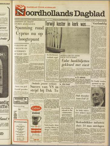 Noordhollands Dagblad : dagblad voor Alkmaar en omgeving 1967-11-23