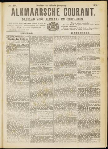 Alkmaarsche Courant 1906-12-14
