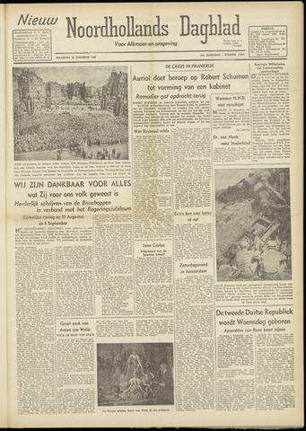 Nieuw Noordhollandsch Dagblad : voor Alkmaar en omgeving 1948-08-30