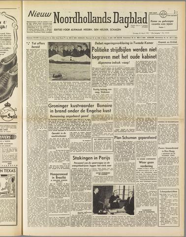 Nieuw Noordhollandsch Dagblad : voor Alkmaar en omgeving 1951-03-20