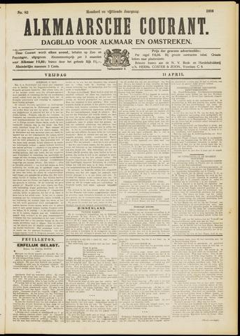 Alkmaarsche Courant 1913-04-11