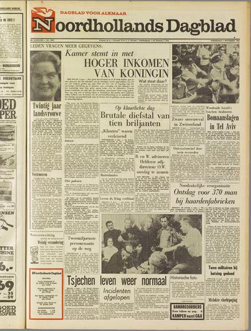 Noordhollands Dagblad : dagblad voor Alkmaar en omgeving 1968-09-05