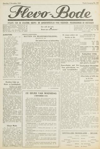 Flevo-bode: nieuwsblad voor Wieringen-Wieringermeer 1949-11-05