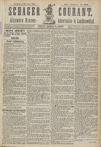 Schager Courant 1920-06-24