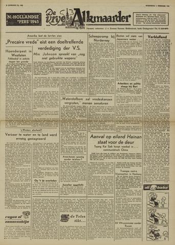 De Vrije Alkmaarder 1950-02-01