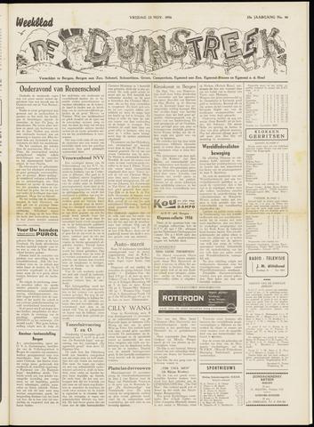 De Duinstreek 1956-11-23