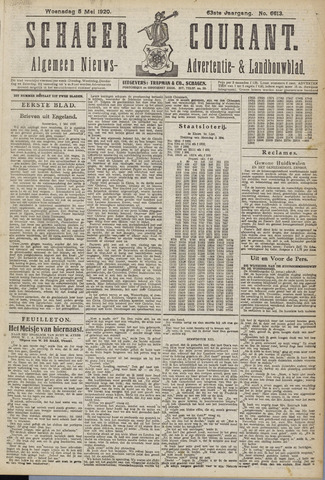 Schager Courant 1920-05-05