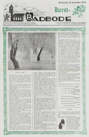Badbode voor Callantsoog 1973-12-20